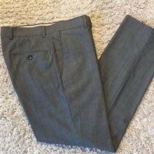 Kenneth Cole Med Gray Dress Pants